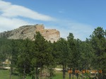 Crazy Horse Above Pines