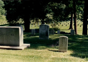 """Graves,"" Arlington National Cemetery, VA, 1990"