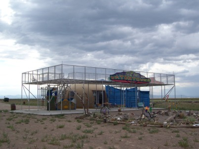 UFO Watchtower, Hooper, Colorado, c. 2005