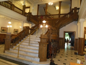 The Grand Staircase, Boldt Castle (Aug 13, 2014)