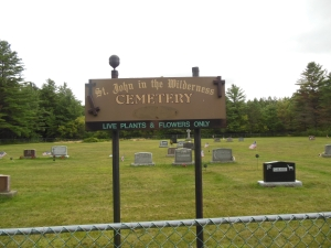 St. John in the Wilderness Cemetery, Lake Clear, N.Y.  (Aug 15, 2014)