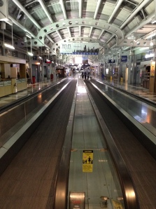 O'Hare Airport Slightly Left of 2 a.m. (Aug 9, 2014)