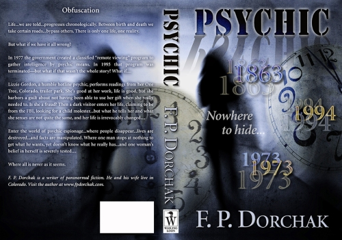 """Psychic Cover """"Flat"""" (© F. P. Dorchak and Duvall Design, 2014)"""