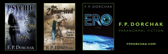 Paranormal Fiction Bookmarks (© F. P. Dorchak and Kirschner Caroff, 2014)
