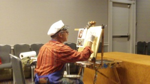 Mario Acevedo Paint Demo, MileHiCon46, Oct 26, 2014