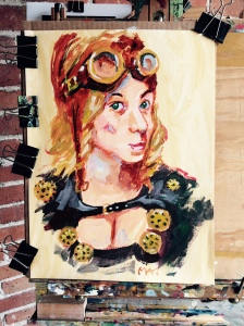 Final Version of Mario's Steampunk Chic, MileHiCon46, Oct 26, 2014!