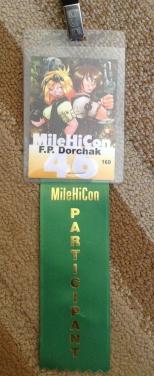 MileHiCon Badge 2014