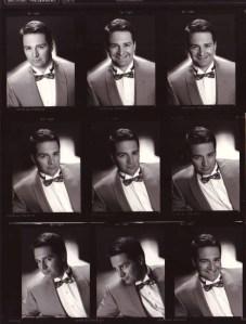 Frank Noir Contact Sheet ©1988 (Michael Drejza, Photographer)