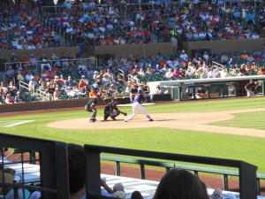 Rockies and the Giants, Salt River Fields, Scottsdale, AZ, March 25, 2015