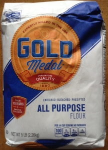 Award Winning-Expertly-Milled-in-the-USA-Gold Medal-Premium Quality-Over-125-Years-of-Baking-Success-Enriched-Bleached-Presifted-All-Purpose Author, F. P. Dorchak (© 2015, F. P. Dorchak composition of some really, pretty damned good flour).