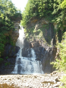 High Falls on the Chateaugay River, Chateaugay, New York, July 16, 2015