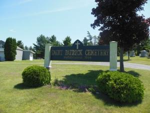 Saint Patrick Cemetery, Chateaugay, NY, July 16, 2015