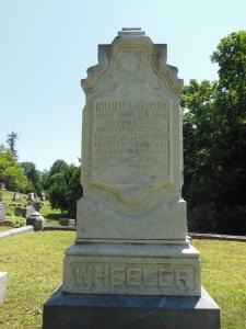 U. S. Vice President William A. Wheeler, Morningside Cemetery, Malone, New York, July 16, 2015