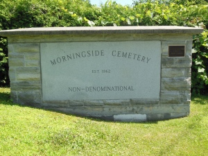 Morningside Cemetery, Malone, NY, July 16, 2015