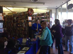 The Bookman Signing, Colorado Springs, Nov 7, 2015