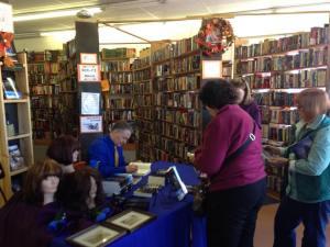 The Bookman Signing, Colorado Springs, Nov 7, 2015
