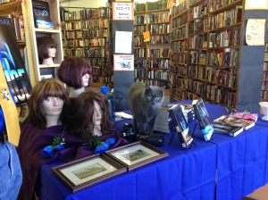 My Books Are Cat Friendly! The Bookman Signing, Colorado Springs, Nov 7, 2015
