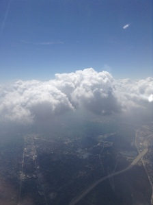 Cloud Watching! (Photo © F. P. Dorchak, August 11, 2016)