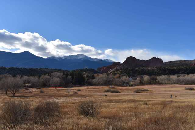 Pikes Peak, Garden of the Gods, and Rock Ledge Ranch, Colorado (© F. P. Dorchak, November 27, 2016)