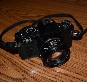 My First 35mm Camera! Sears KSX. (© F. P. Dorchak, December 29, 2016)