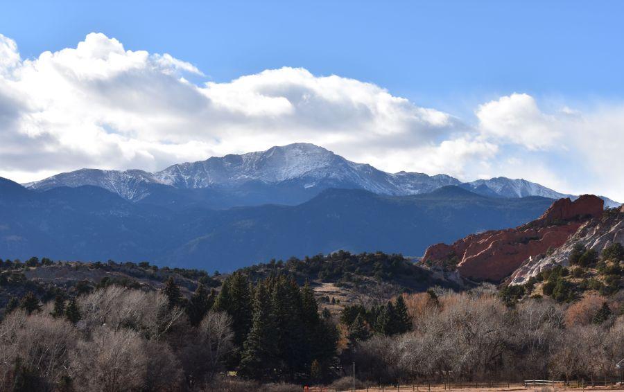Pikes Peak Colorado (© F. P. Dorchak, November 27, 2016)