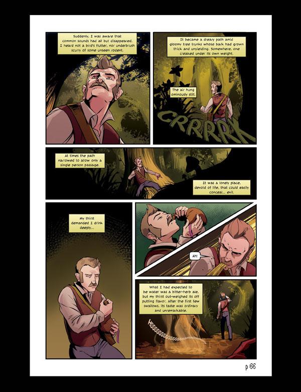 A Journey With Strange Bedfellows Graphic Novel (© 2014 Jan CJ Jones)