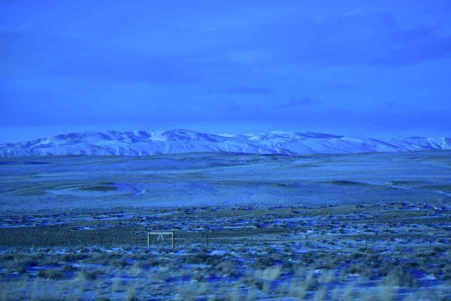 If Wyoming Were Antarctica. (© F. P. Dorchak, March 7, 2017)