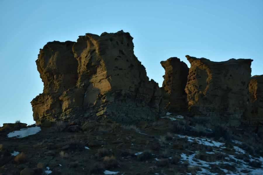 Wyoming Rocks. (© F. P. Dorchak, March 7, 2017)