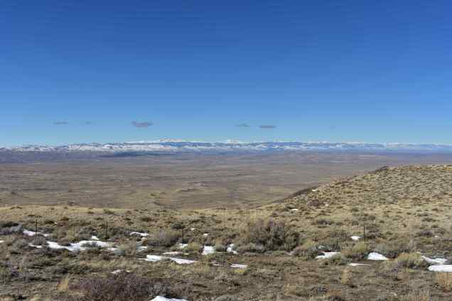 Wind River Basin Overlook? (© F. P. Dorchak, March 7, 2017)