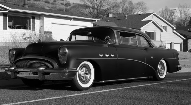 """'54 Buick """"Super"""" (Image © F. P. Dorchak, March 10, 2018, Buick courtesy of Jon Spindler)"""