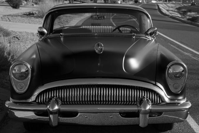 "'54 Buick ""Super"" (© F. P. Dorchak, March 10, 2018)"