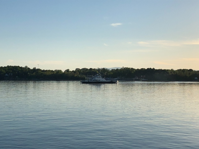 Vermont-to-NYS Ferry. (© 2018 F. P. Dorchak)