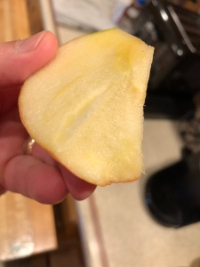 North Country Honeycrisp Flavor Is Far More Massive! (Image © 2018 F. P. Dorchak)