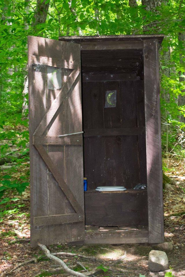 Adirondack Outhouse. (Image © 2018 F. P. Dorchak)