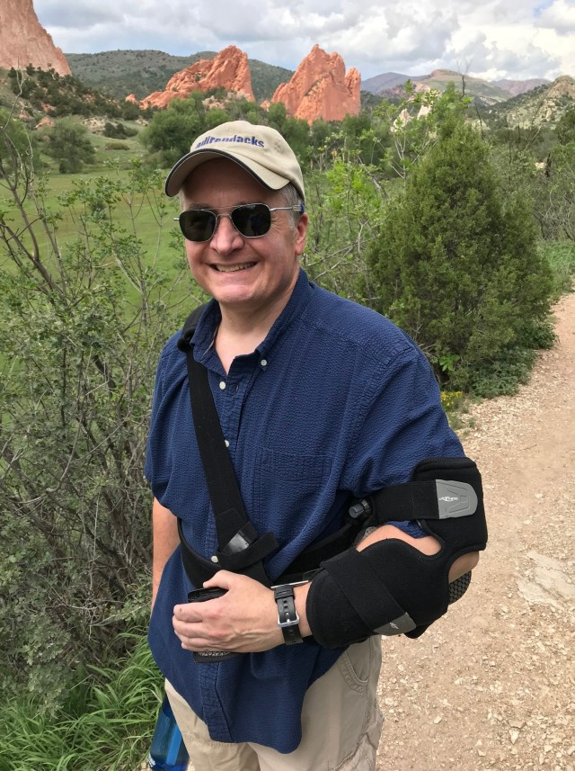 Post Surgery Walk/Hike Into Garden of the Gods, Colorado, September 2018 (© Frank and Laura Dorchak, 2018)