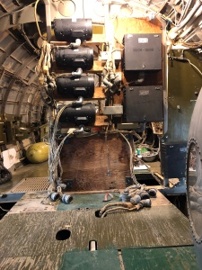 "Interior of the B-29 ""Superfortress,"" ""Peachy,"" Weisbrod Aircraft Museum. (© February 15, 2020 F. P. Dorchak)"