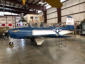 """T-34, """"Mentor,"""" Weisbrod Aircraft Museum (© February 15, 2020 F. P. Dorchak)"""