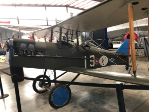 7/8ths Scale S.E.5 Replica, Weisbrod Aircraft Museum. (© February 15, 2020 F. P. Dorchak)
