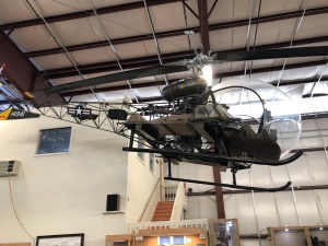 Bell 47 Helicopter, Weisbrod Aircraft Museum. (© February 15, 2020 F. P. Dorchak)
