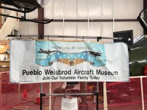 Pueblo Weisbrod Aircraft Museum (© February 15, 2020 F. P. Dorchak)