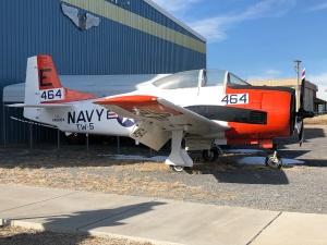 Navy T-28. Weisbrod Aircraft Museum (© February 15, 2020 F. P. Dorchak)