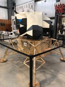 1/3 Scale Lunar Module, Weisbrod Aircraft Museum (© February 15, 2020 F. P. Dorchak)