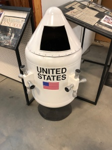 Command Module Trash Can! Weisbrod Aircraft Museum (© February 15, 2020 F. P. Dorchak)