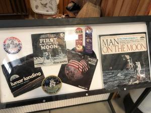 Apollo Era Memorabilia, Weisbrod Aircraft Museum (© February 15, 2020 F. P. Dorchak)