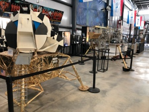 Lunar Module and Lunar Soil Oxygen Extraction Module (Engineering Test Machine). Weisbrod Aircraft Museum (© February 15, 2020 F. P. Dorchak)