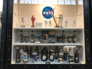 NASA Beer, Weisbrod Aircraft Museum (© February 15, 2020 F. P. Dorchak)