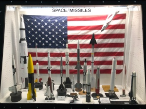 Space Missile Display, Weisbrod Aircraft Museum (© February 15, 2020 F. P. Dorchak)