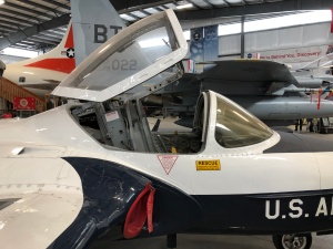 """Second Seater"" Side, T-37, Weisbrod Aircraft Museum (© February 15, 2020 F. P. Dorchak)"