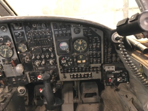 """Second Seater"" Instrument Panel, T-37, Weisbrod Aircraft Museum (© February 15, 2020 F. P. Dorchak)"