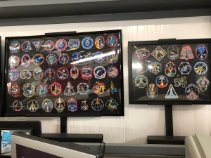 Shuttle Patches. Weisbrod Aircraft Museum (© February 15, 2020 F. P. Dorchak)